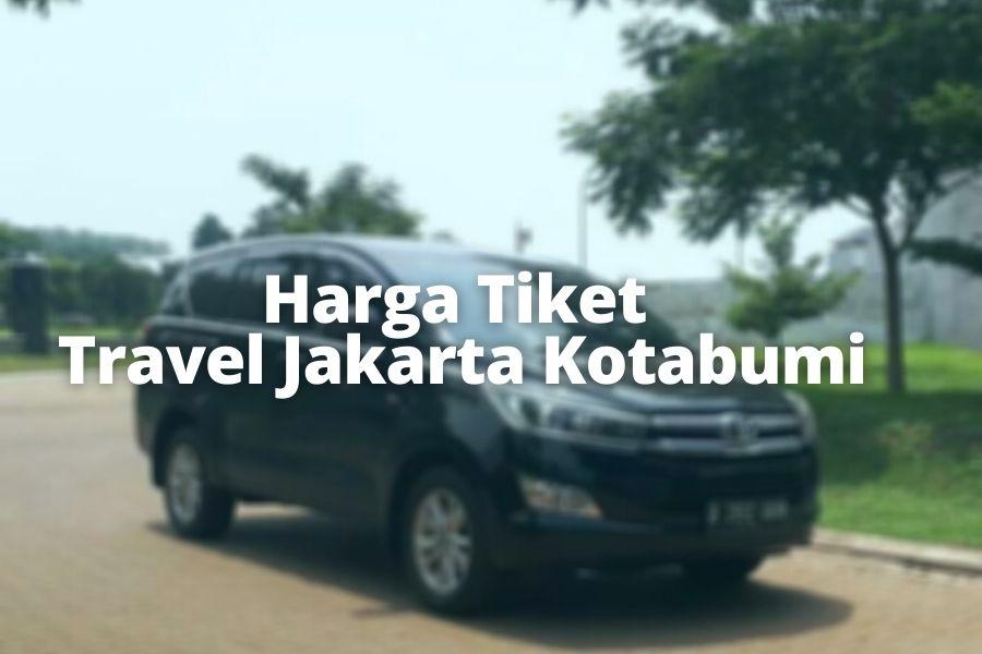 Harga Tiket Travel Jakarta Kotabumi