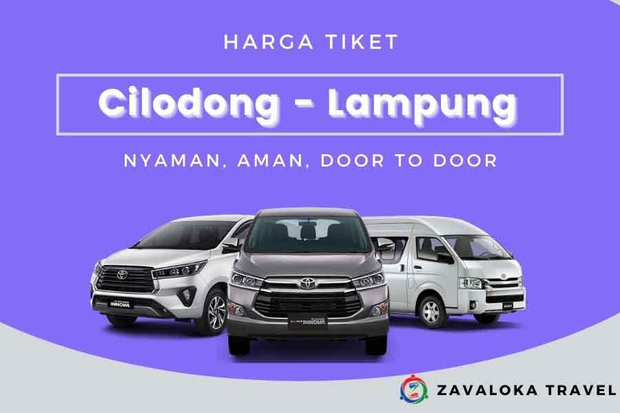 Harga Tiket Travel Cilodong ke Lampung