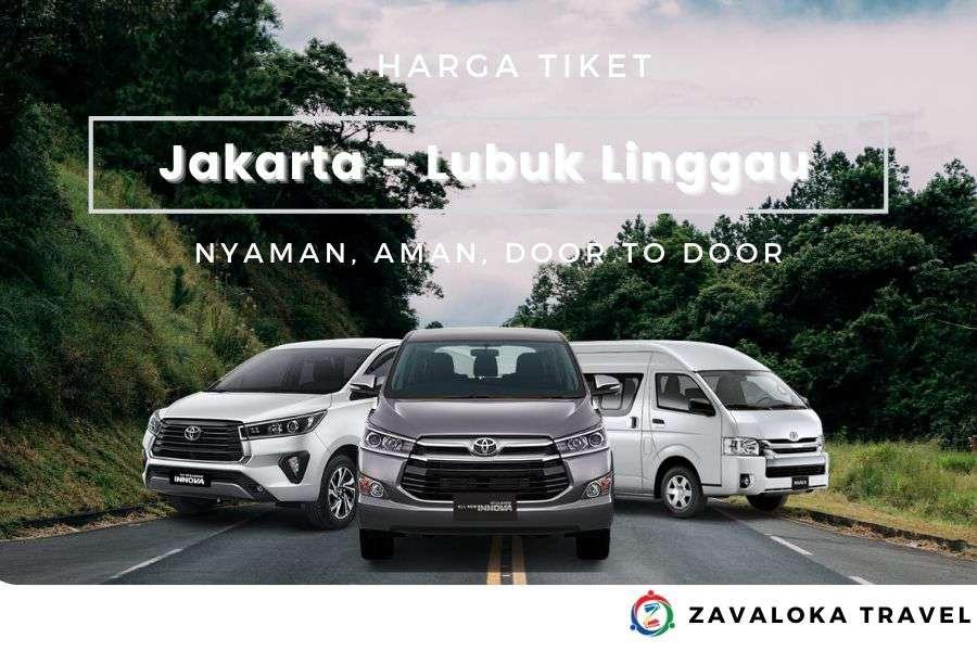Harga Tiket travel Jakarta ke Lubuk Linggau