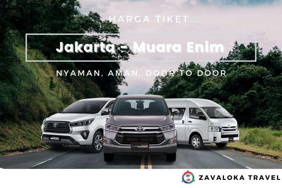 Harga Tiket travel Jakarta ke Muara Enim