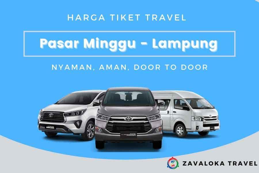 Harga Tiket travel Pasar Minggu ke Lampung