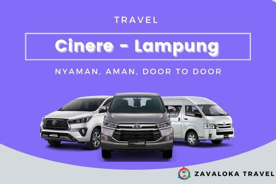 Travel Cinere ke Lampung