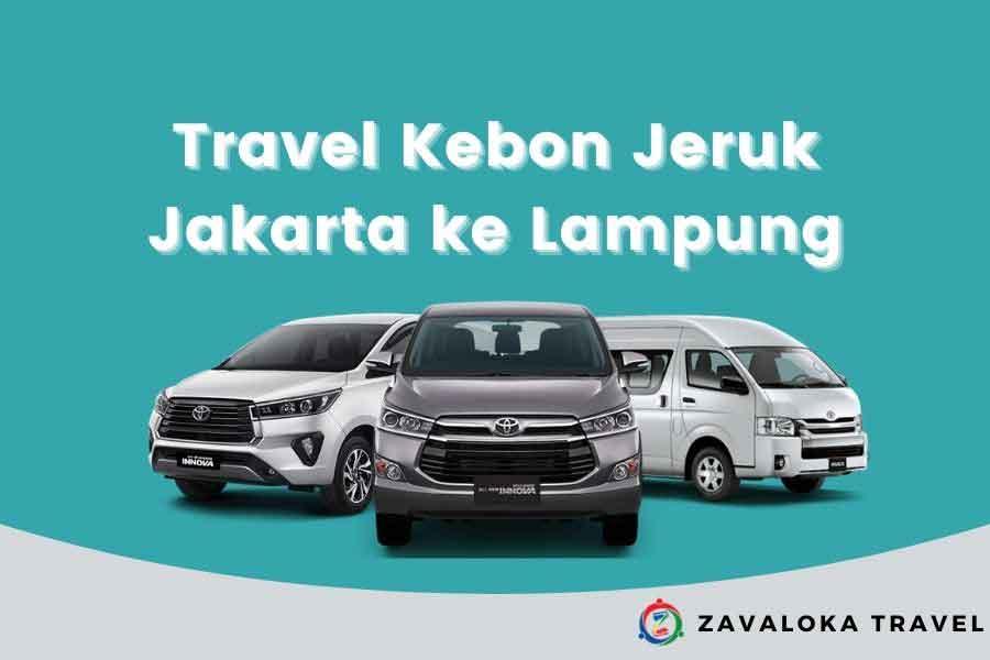 Travel Kebon Jeruk ke Lampung