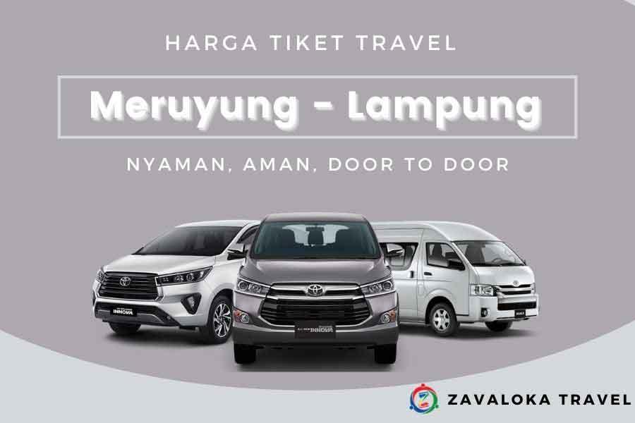 harga tiket Travel Meruyung ke Lampung