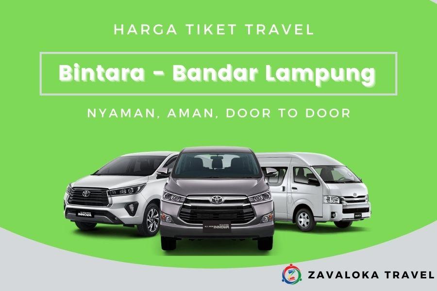 harga tiket travel Bintara ke Bandar Lampung 1