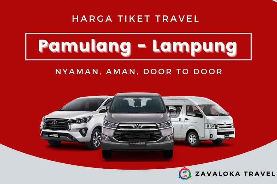 harga tiket travel Pamulang ke Lampung