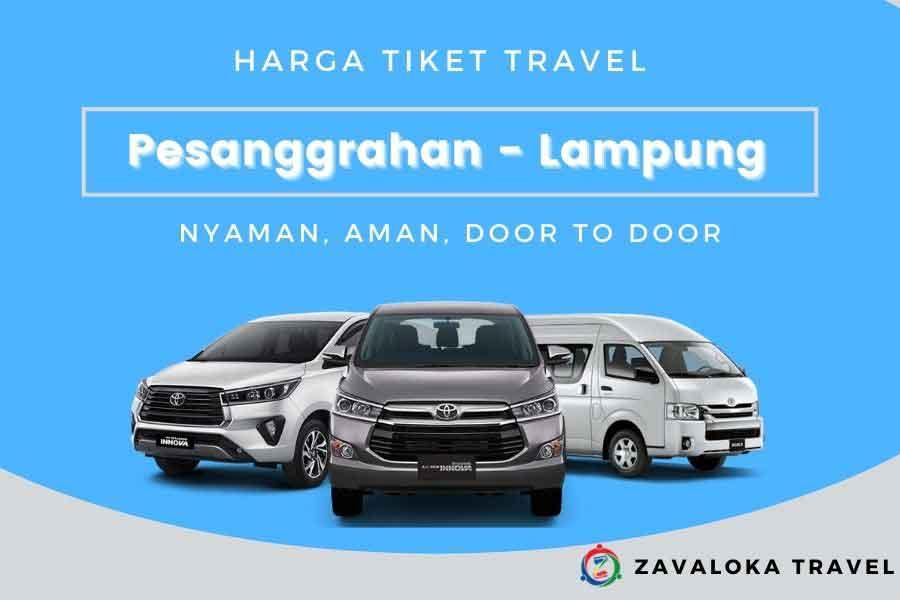 harga tiket travel Pesanggrahan ke Lampung