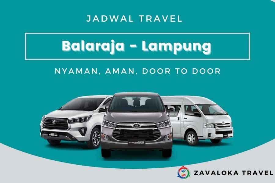 jadwal travel Balaraja ke Lampung