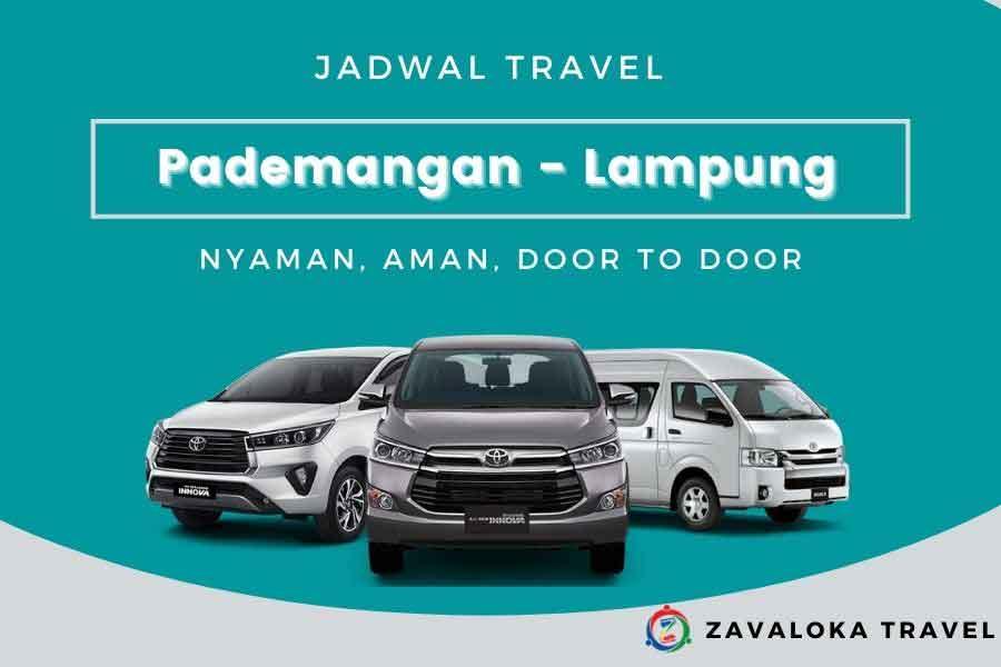 jadwal travel Pademangan ke Lampung