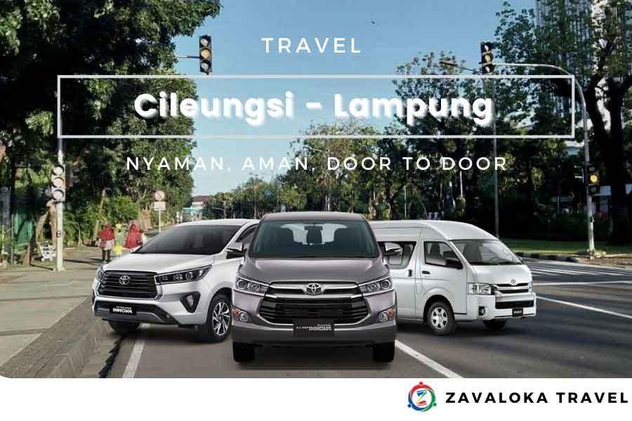 travel Cileungsi ke Lampung
