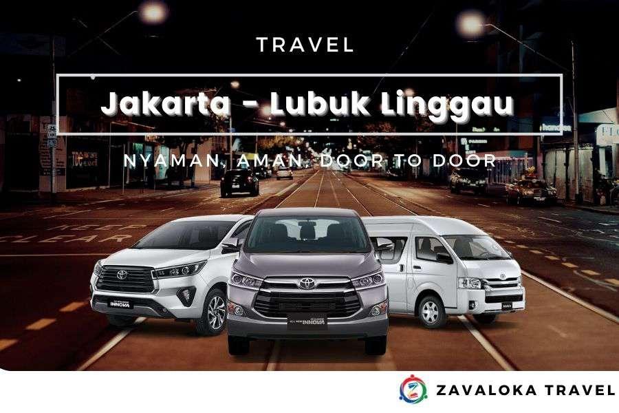travel Jakarta ke Lubuk Linggau