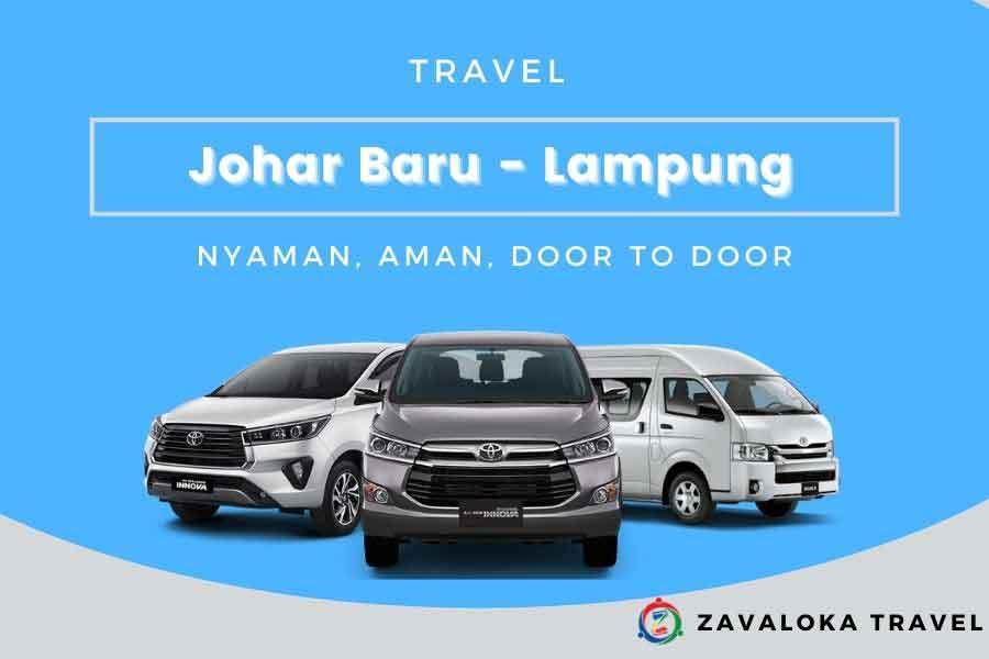 travel Johar Baru ke Lampung