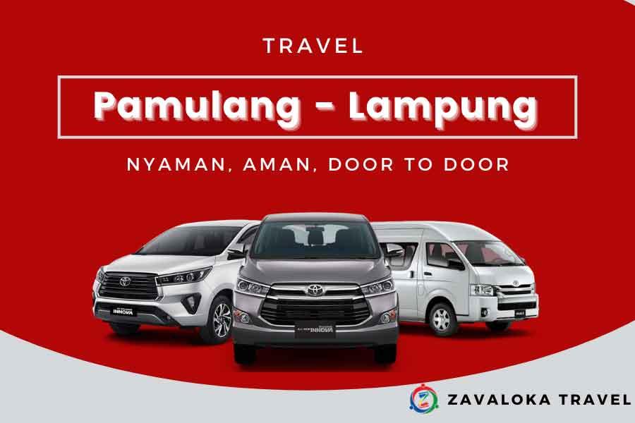 travel Pamulang ke Lampung