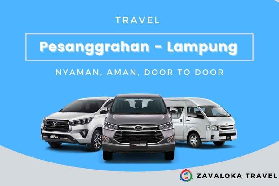 travel Pesanggrahan ke Lampung
