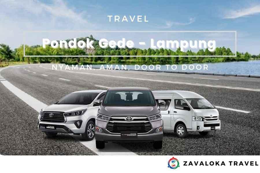 travel Pondok Gede ke Lampung