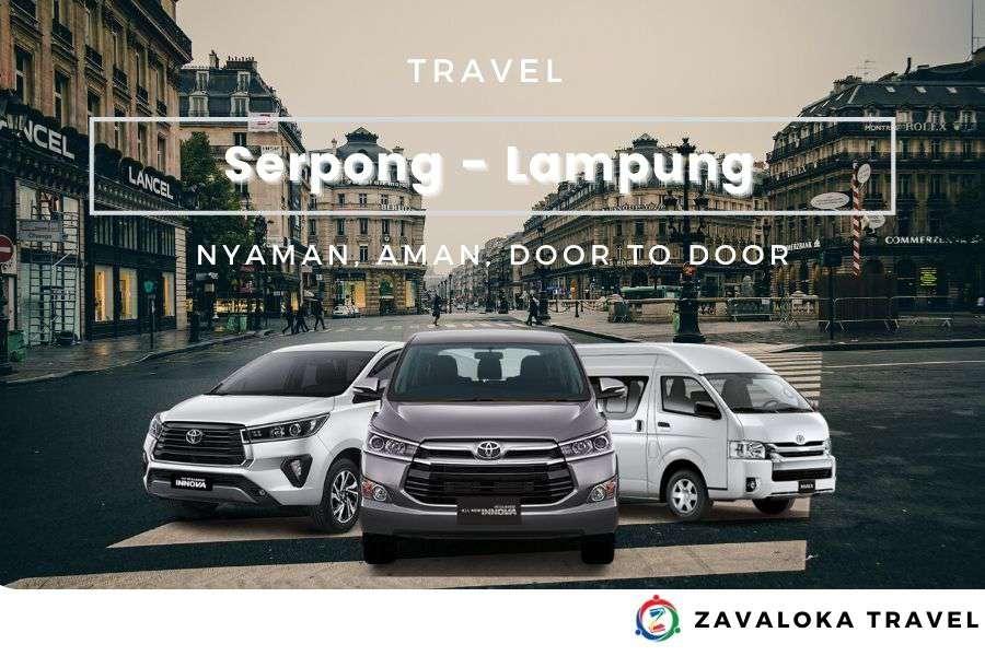travel Serpong ke Lampung