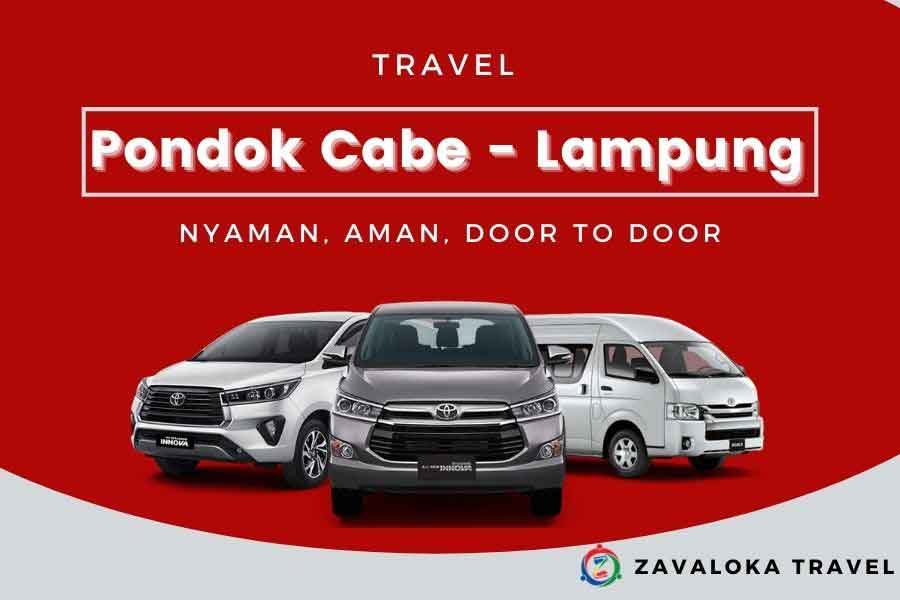 travel pondok cabe ke Lampung