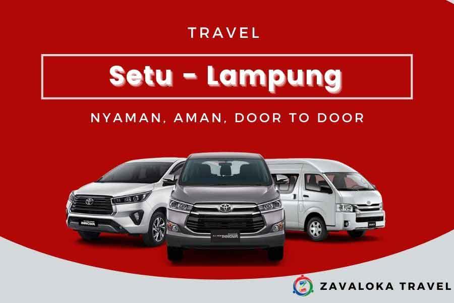 travel setu ke Lampung