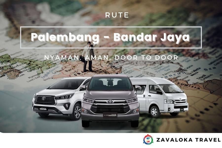 Rute Palembang Bandar Jaya