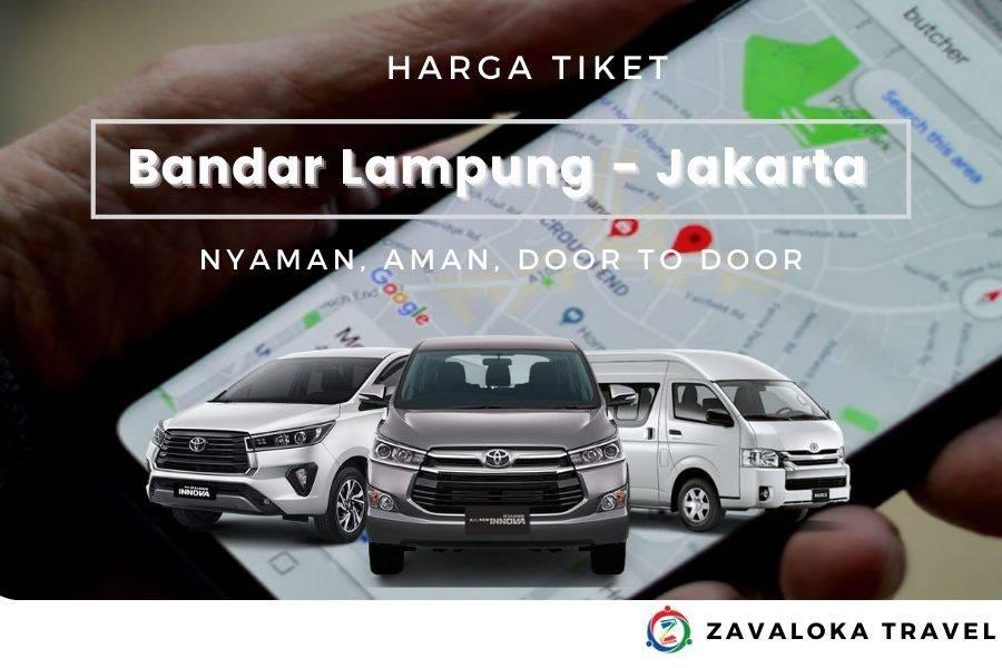 harga travel bandar lampung Jakarta