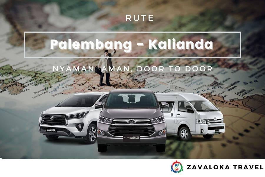 rute Palembang Kalianda