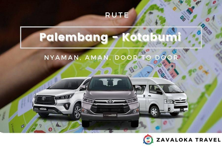 rute travel Palembang Kotabumi