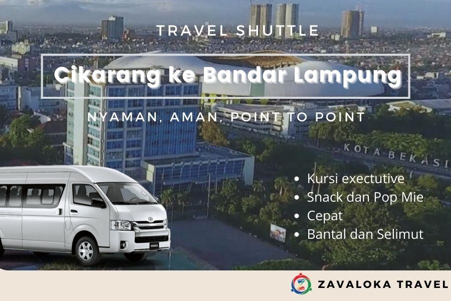 Travel Cikarang ke Bandar Lampung