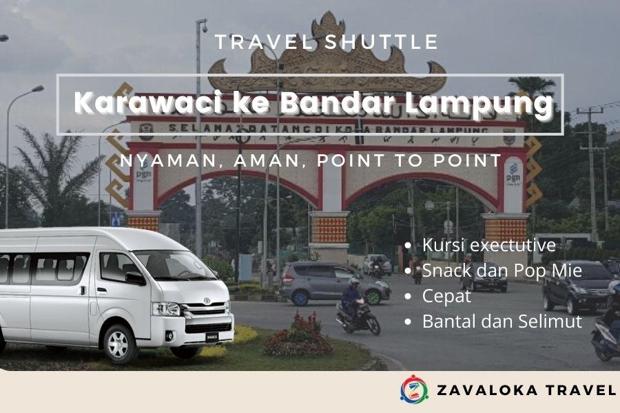 Travel Karawaci ke Bandar Lampung