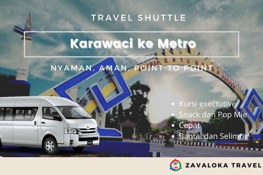 Travel Karawaci ke Metro