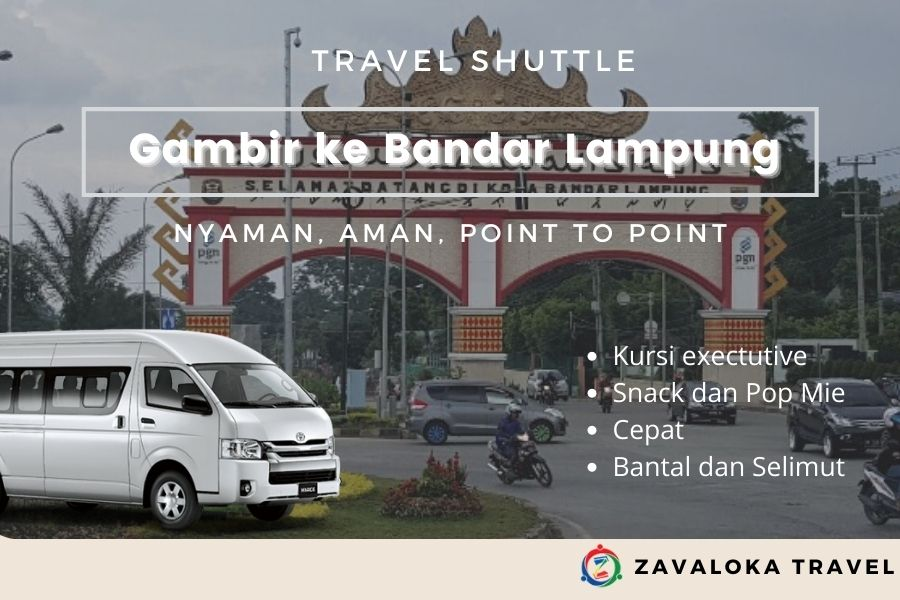 Travel gambir ke Bandar Lampung